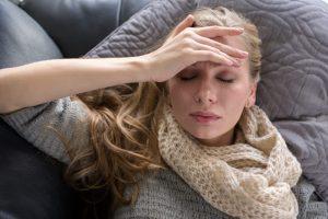 fatigue, headache