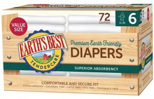 Earth's Best Tendercare Disposable Diapers