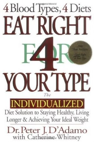 Eat Right 4 Your Type Book