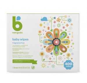 Babyganics Unscented Diaper Wipes